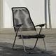 contemporary armchair / rope / aluminum / garden