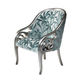 New Baroque design armchair / fabric