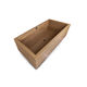 free-standing bathtub / wooden