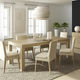contemporary dining table / oak / plywood / rectangular