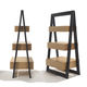 contemporary shelf / wooden / with drawer