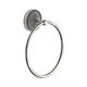 towel ring / wall-mounted / chrome / bronze