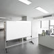 white board / erasable / self-supporting / aluminum