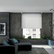 roller blinds / canvas / aluminum / chain-operated