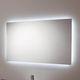 wall-mounted bathroom mirror / contemporary / rectangular / square