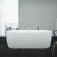 oval bathtub / freestanding / thermal / acrylic