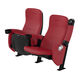 contemporary auditorium seating / leather / fabric / upholstered