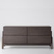 contemporary chest of drawers / oak / ash
