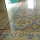 indoor encaustic cement tile / floor / marble dust / Victorian pattern