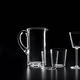 blown glass carafe / commercial / for domestic use