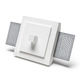 recessed wall light fixture / LED / square / IP20