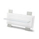 recessed wall light fixture / LED / linear / glass