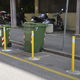 flexible bollard / security / parking prevention / steel