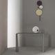 minimalist sideboard table / steel / concrete / rectangular