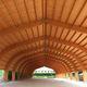 wooden roof framing / prefab