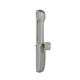 sliding door pull handle / zamak / contemporary / with lock