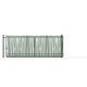 sliding gate / galvanized steel / bar / home