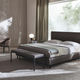 contemporary bed bench / fabric / wooden / home