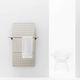 hot water radiator / contemporary / aluminum / cast iron