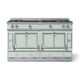 gas range cooker / electric / dual-fuel / equipped