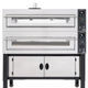 commercial pizza oven / electric / free-standing / 2-chamber