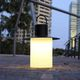 table lamp / iron / rotomolded polyethylene / contemporary