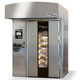 commercial oven / gas / rack / free-standing