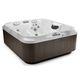 above-ground hot tub / rectangular / 4-seater