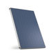 flat thermal panel / for water heating / with aluminum frame / vertical