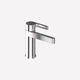 washbasin mixer tap / countertop / chromed metal / bathroom