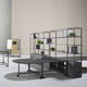 contemporary bookcase / for offices / melamine