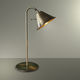 table lamp / traditional / metal / golden