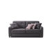 sofa bed / contemporary / fabric / commercial
