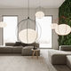 pendant lamp / contemporary / aluminum / dimmable