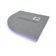 corner shower tray / ready-to-tile / extruded polystyrene / extra-flat