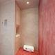 steam shower / stainless steel / rectangular / with hinged door