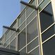 wire mesh solar shading / for facade / vertical