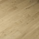 engineered parquet floor / glued / floating / oak