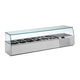 countertop refrigerated display case / for shops / for restaurants / for commercial kitchens