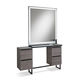 contemporary dressing table / steel / glass / for hairdressers