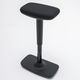 fabric office stool / commercial / for office / upholstered