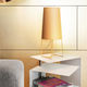 table lamp / steel / contemporary / LED
