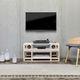 floor-standing speaker / wireless / wooden