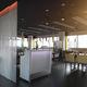 modular reception desk / wood veneer / for bar / illuminated