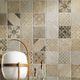 indoor tile / kitchen / living room / wall