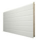 sectional garage door / steel / automatic / insulated