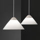 pendant lamp / contemporary / steel / painted aluminum