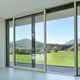 lift-and-slide patio door / aluminum / double-glazed / thermally-insulated