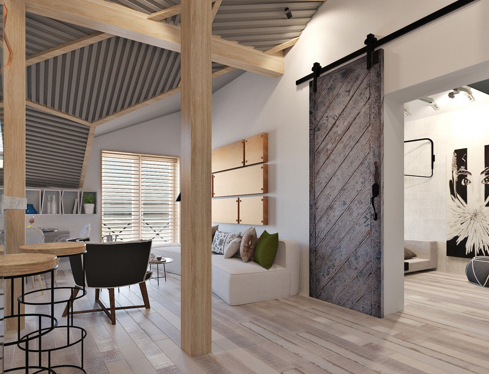 4 Small Studio Apartments Decorated In 4 Different Styles All Under 50 Square Meters With Floor Plans Russia