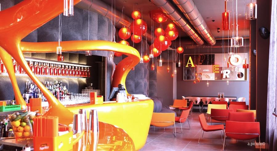 Aperol Terrace In Milan Italy Milan Italy Axo Light